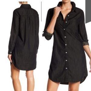 Big Star stretch Denim dress. Black. NWT.